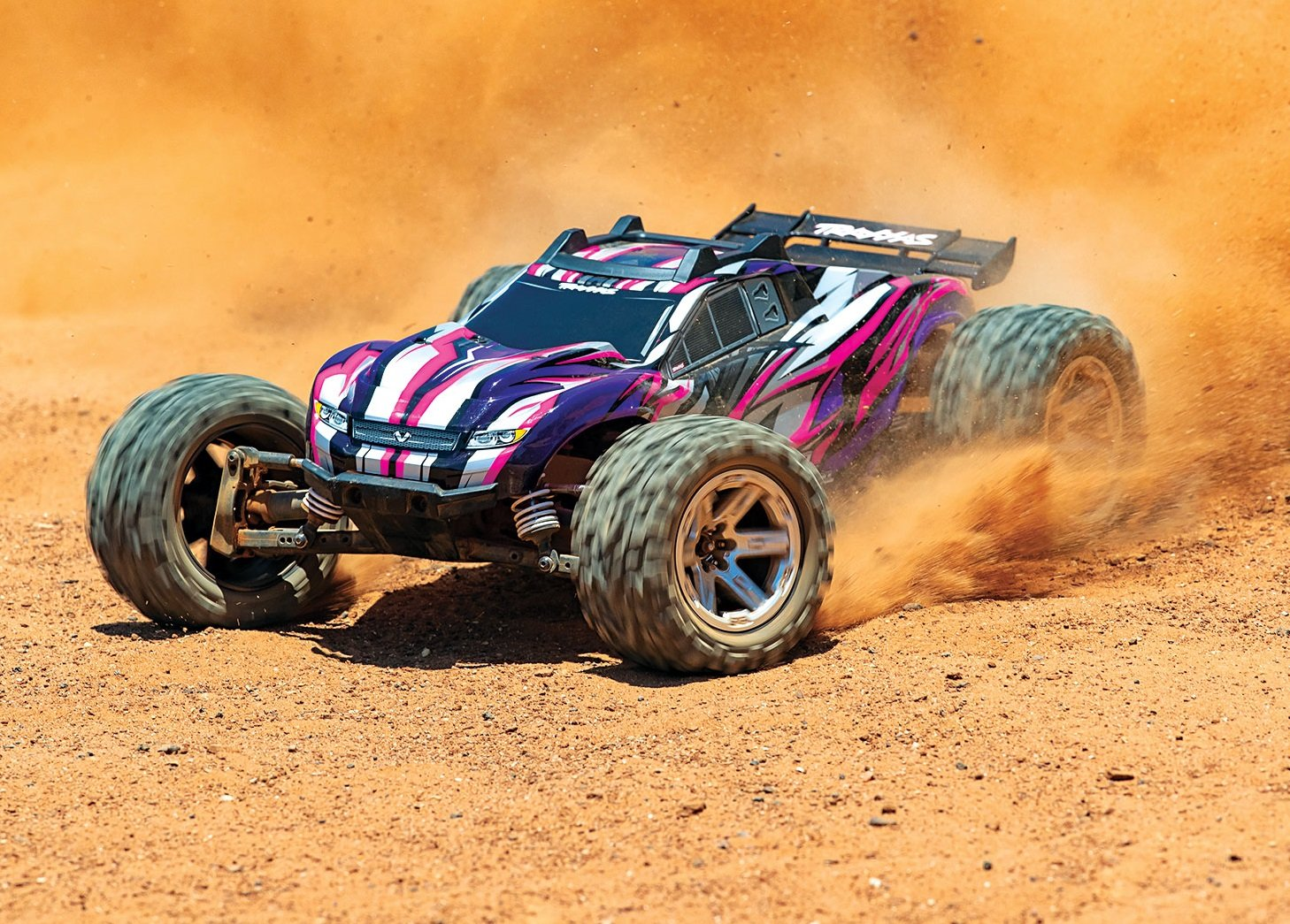 Fandacycle Professional Gear and Apparel in Columbia MO 67076-4-Rustler-4x4-VXL-Action-Dirt-PINK-5188