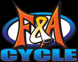 F and A Cycle Logo Specialty Shop Service ATV UTV Motorcycles Dirt Bikes Race Engines Rebuild Suspension Restore Antique Classic Columbia Missouri